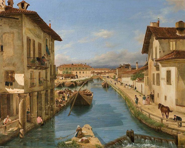archivio-filippo-carcano-paola-vozza-naviglio-di-san-marco-in-un-dipinto-di-giuseppe-canella-1834.jpg (768×612)