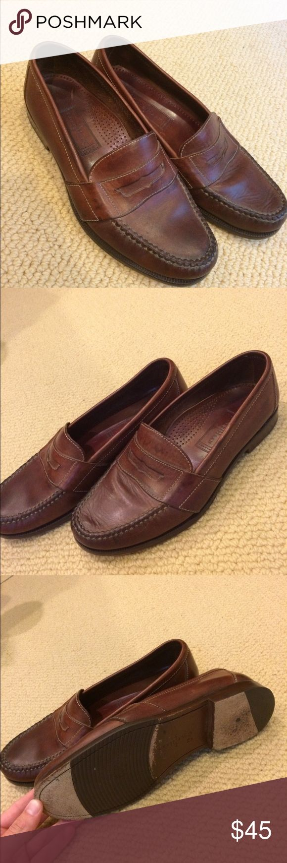 Cole Haan penny loafers Very nice penny loafers for sale go great on any outfit can be worn casual or dressy slightly worn and still I'm very good condition ! Cole Haan Shoes