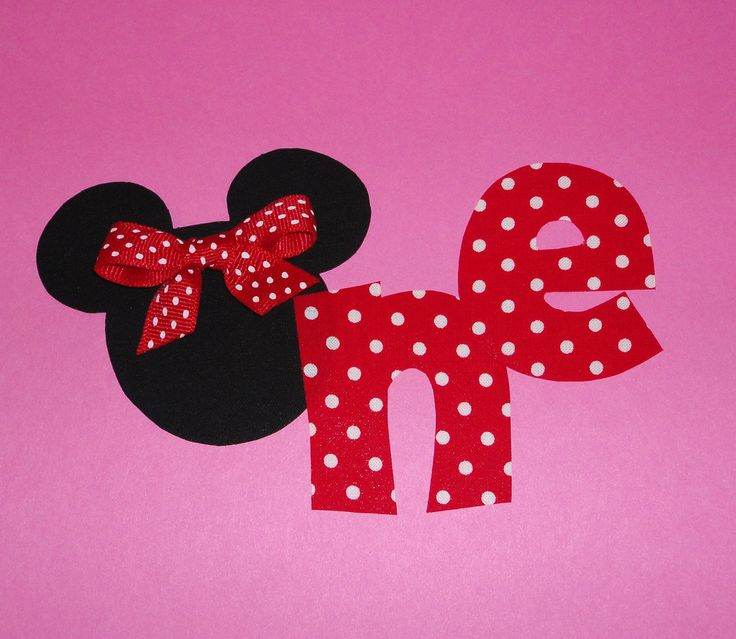 Cut Boy And Girl Wallpaper Fabric Applique Template Pattern Only Mickey Minnie Mouse