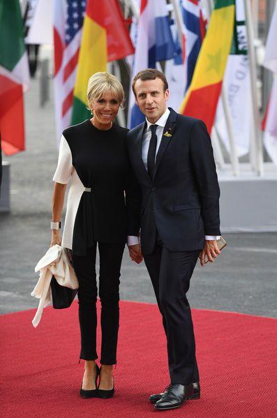 Brigitte Macron était vendrediau G20 à Hambourg en Allemagne, sommet auquel Emmanuel Macron participe.