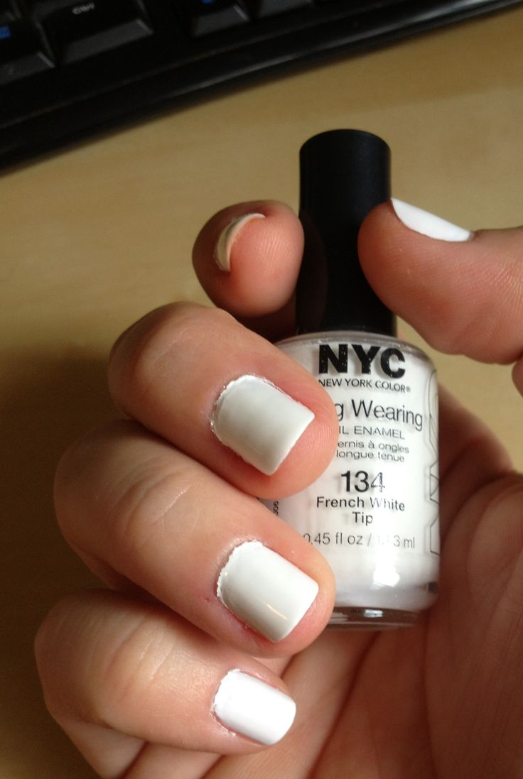 8/6/13-Color of the Week: I cheaped out and got a $1 white at Target- NYC's 'White French Tip' because I really wanted Essie's 'Blanc' but wasn't sure if I would like white on my nails. This color wasn't bad, but it was a little thin & I had to put on multiple coats (4 or 5 depending on the nail) & I think the OPI base coat with the Essie 'Good to Go' top coat really saved this polish. All things considered, I really dig the all white nails.