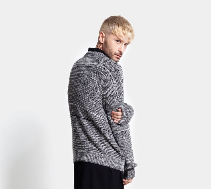 DIG ATHENS AW1617 Knitwear #Ethan knitted jumper