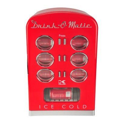 Kalorik Red Retro Mini Cooler Fridge MCL 36711