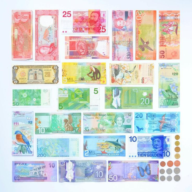 World Currency in #color