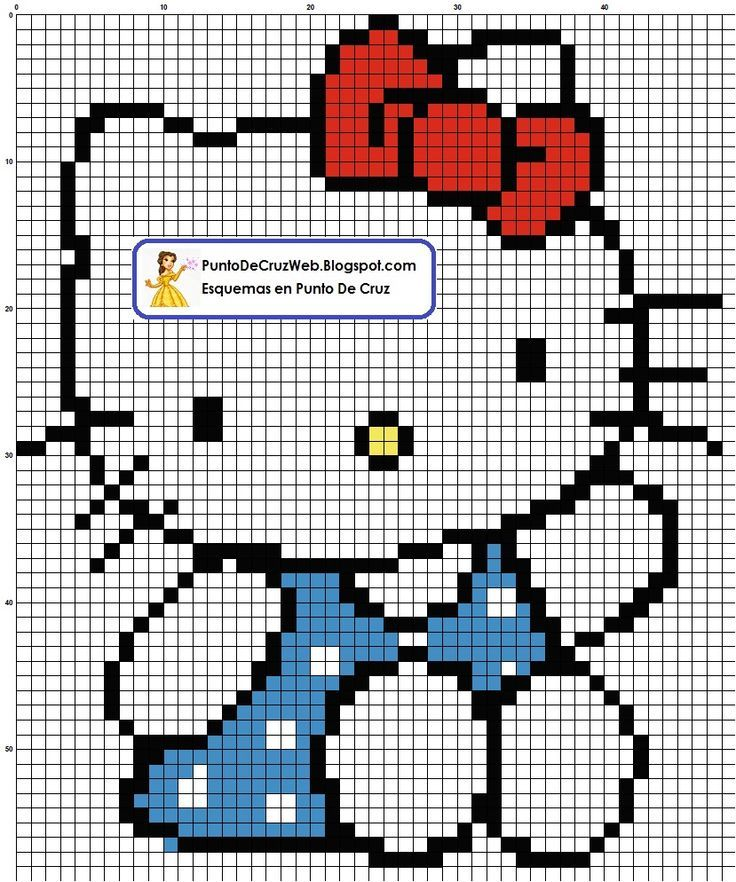 hello kitty plastic canvas patterns | Visit puntodecruzweb.blogspot.com