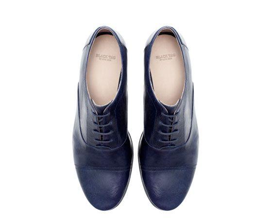 Black Tag Slim Shoes Man Zara Philippines My