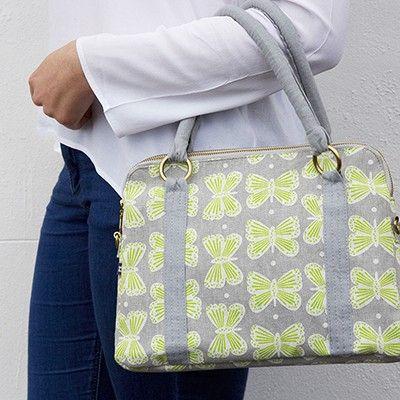 Grey Alice Bag