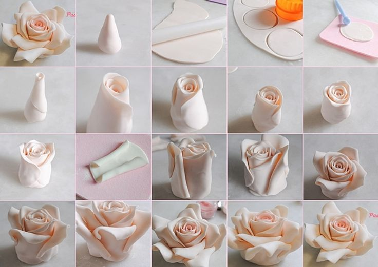 Decorate Your Cakes with These Beautiful Fondant Roses