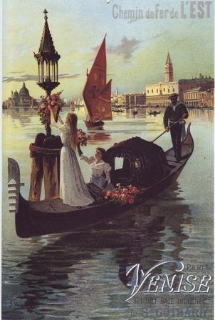 We can still visit Venice and enjoy a Gondola Ride but doesn't this look fantastic and enticing!