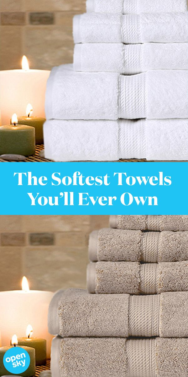 The softest, coziest towels you'll ever own--now on sale! 100% These 100% Egyptian cotton towel will make you--and your guests--feel like they're at a 5-star resort. Available in your choice of Green, White, Blue, Beige, Gray, Ivory, or Rose.