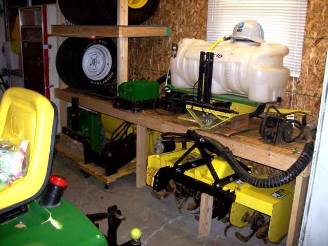 Tractor Seat Storage : Best images about john deere lawn tractor on
