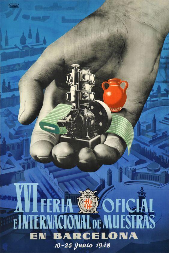 Barcelona, XVI Feria oficial e internacional de muestras 1948 (by Crisol / 1948)
