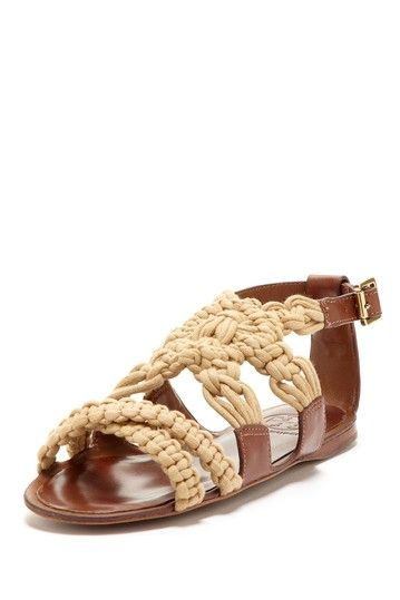 macrame sandals