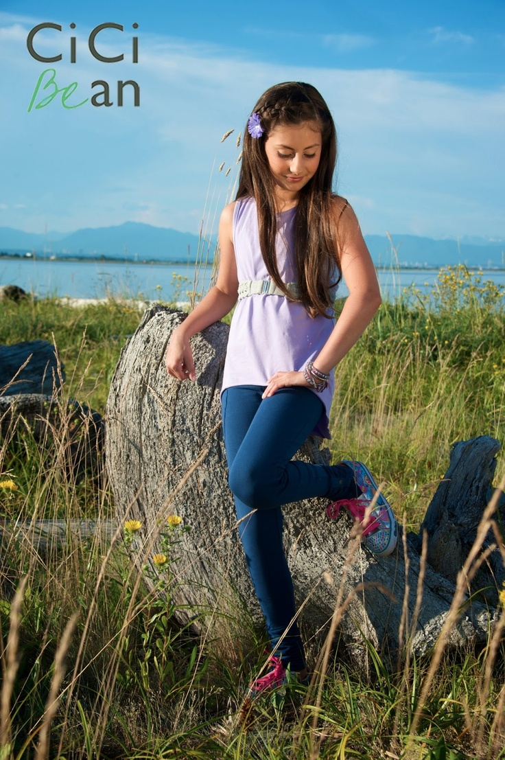 Loving the tank from the Favourite Tunes Tee in lilac, such a pretty colour! | Cici Bean - SS13 Collection | #spring #tweens #tweengirl #tweenfashion