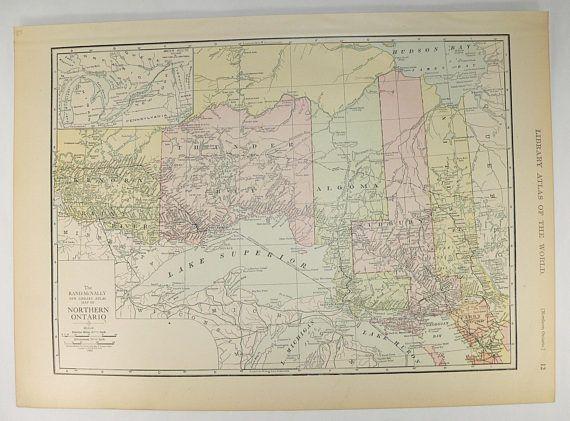 Die Besten Ontario Map Ideen Auf Pinterest First Nations - Map ontario canada