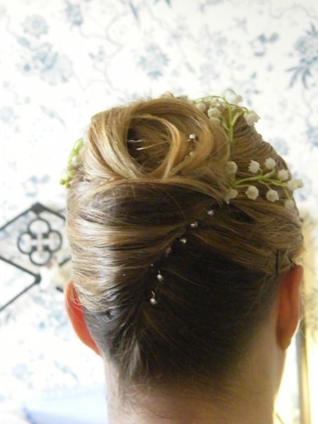 french pleat with added extension