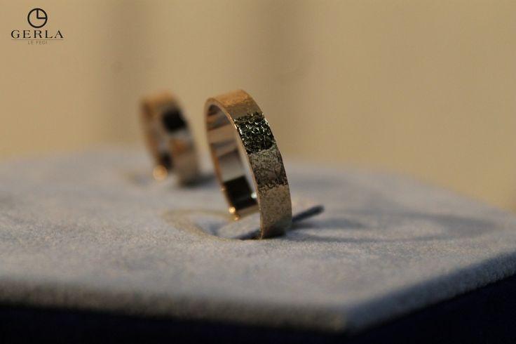 Unconventional Wedding Rings! www.fedigerla.it #fedi #gerla #fedigerla #gerlalefedi