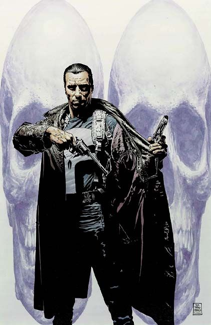 Punisher Cover ©Tim Bradstreet