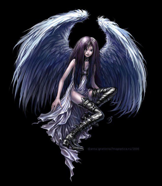 Картинки ангелов демонов фей