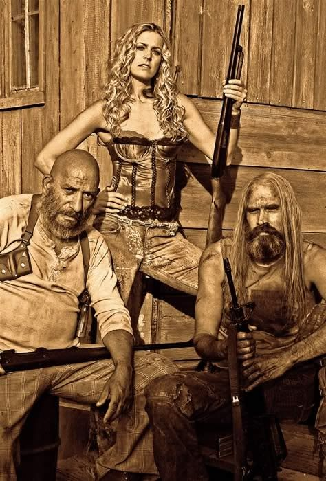 The Devil's Rejects...ummm isn't that Captain Spaulding without his clown stuff on? LOL.