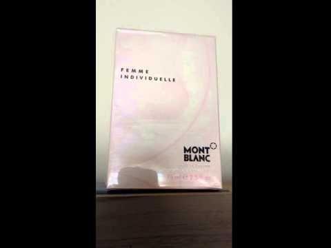 Perfume MontBlanc Femme Individuelle 75ml Feminino Eau de Toilette - Perfumes Importados Gi Comprar Perfumes Importados