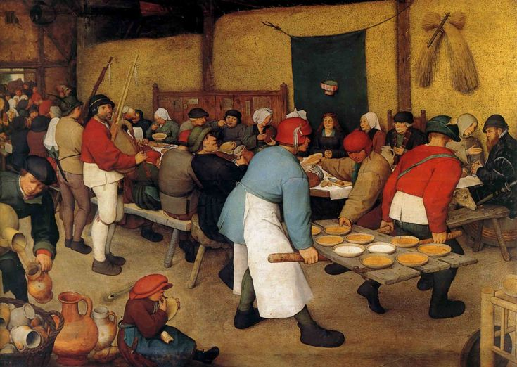 best bruegel images renaissance art pieter  the peasant wedding on wood 1568 museumsrenaissance artmedieval