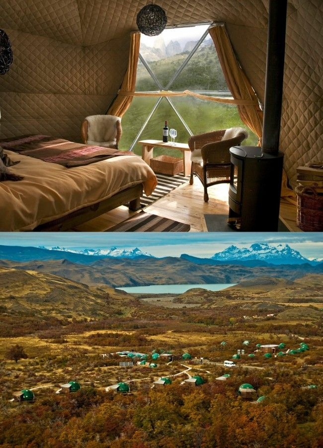 Ecocamp Patagonia | Chile - shh, don't tell anyone about this place...