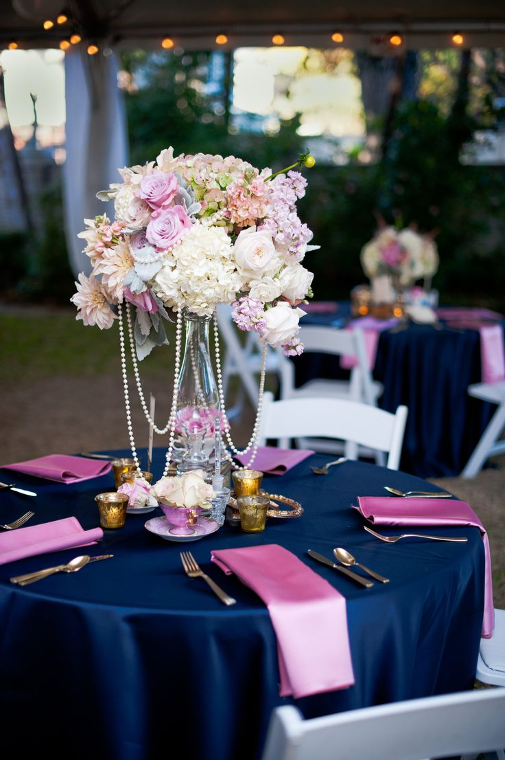 romantic pink blue vintage aldredge house wedding with roses and teacups vintage one