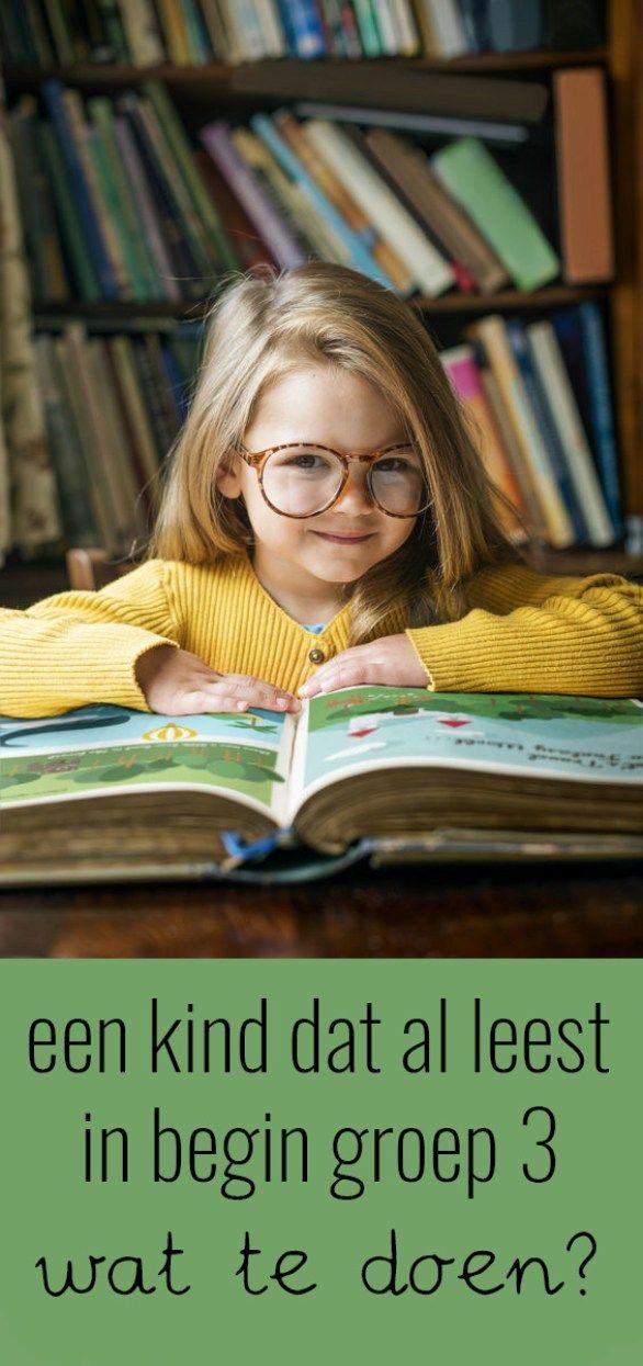 Wat te doen met een kind dat al leest aan het begin van groep 3?