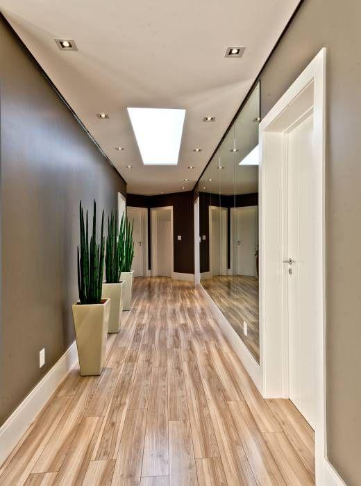 Corredores, halls e escadas Moderno por Espaço do Traço arquitetura