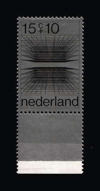 Ootje Oxenaar / Nederland / Stamps / 1970