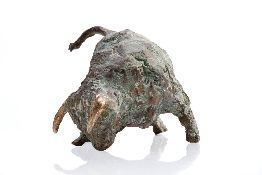 Spaanse Stier; 2004; 10x20cm