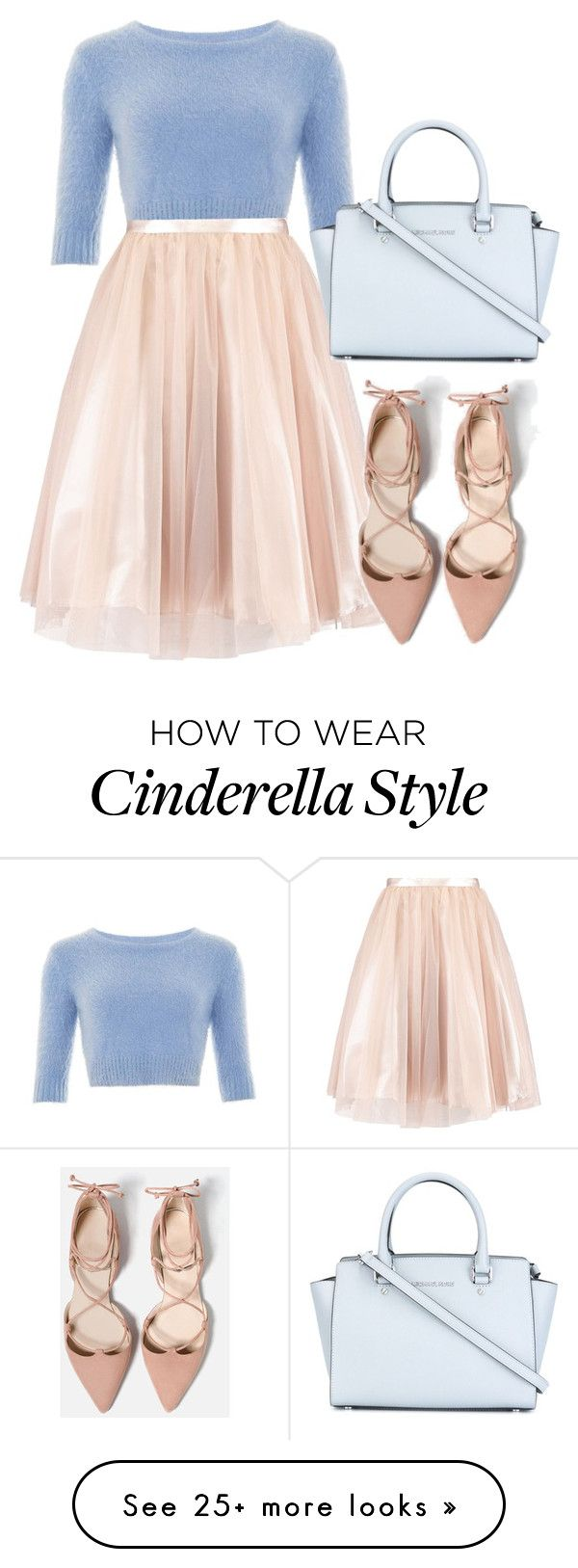 """""""Cinderella"""" by byzaya on Polyvore featuring Collectif and MICHAEL Michael Kors"""