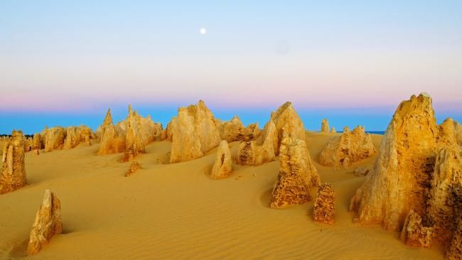 The Pinnacles, Nambung National Park, WA. See the top 20 natural wonders of Australia.