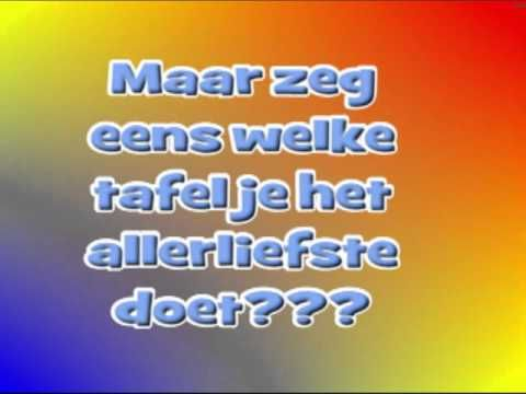 tafelrap - YouTube