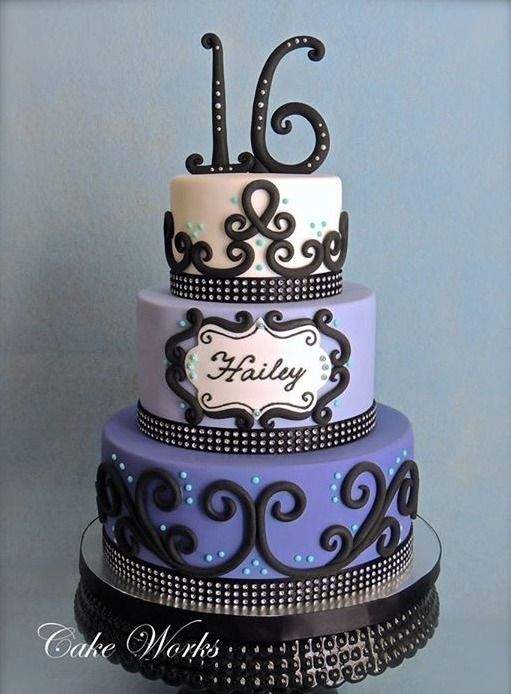 16Th Birthday Cakes 1000+ ideas about sweet 16 cakes on pinterest | 16 cake, 16