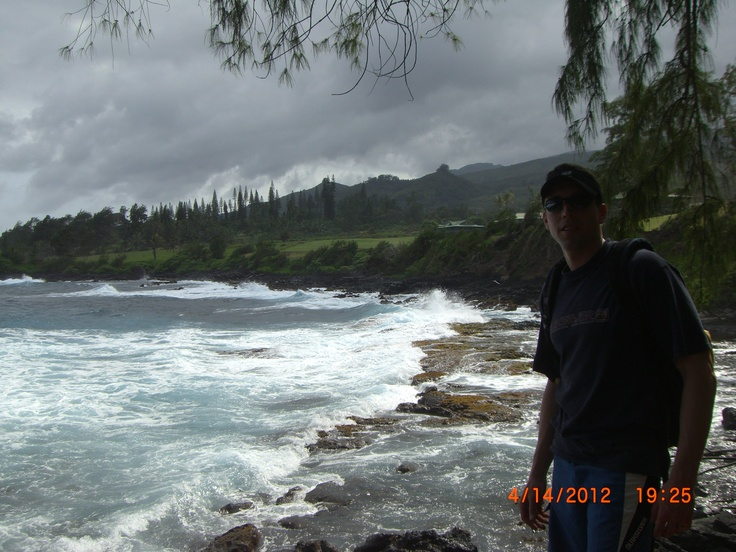 Made it back to Hawaii! Spent some great days on Maui. This is the view on the road to Hana.