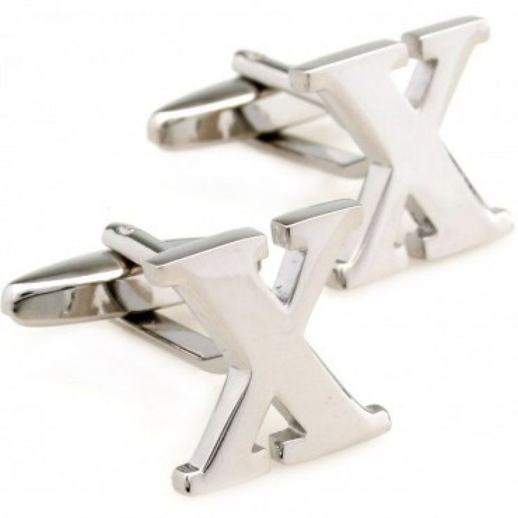 letter x alphabet initial cufflinks shopping the best deals on cuff links