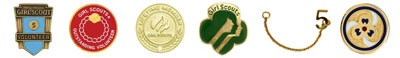 Insignia List  Girl Scout Adults (Ages 18 and Up)