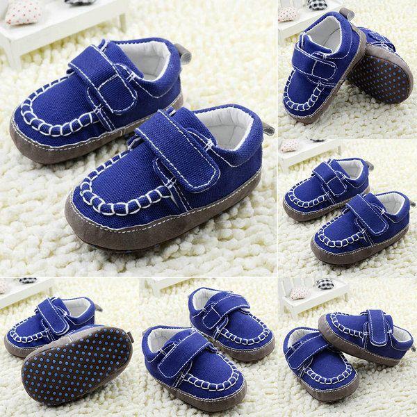 Детская Обувь Детские Первые Ходунки Малышей Мальчики Обувь Кроссовки Новорожденный Девушка Обувь Размер 11-13 см