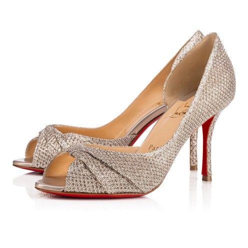 promo code 0e53b 6fb82 Shoes - Courvampa 085 Glitter - Christian Louboutin | C ...