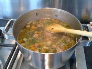 Basic Groentesoep (met ballen) - SJ Kitchen