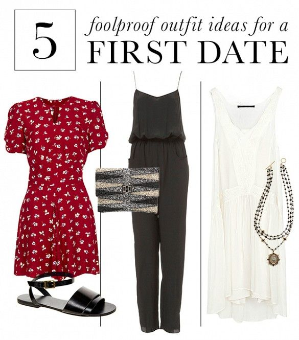 Foolproof First Date Outfits To Ensure You Leave A Lasting Impression via @WhoWhatWear