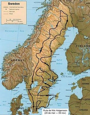 niels holgersson | El Maravilloso Viaje de Nils Holgersson A Través de Suecia