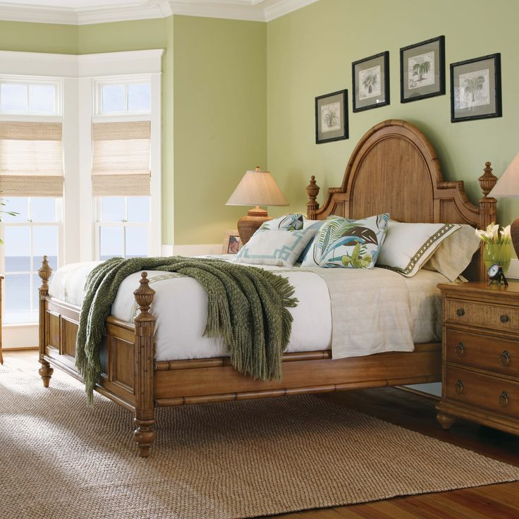 Beach Bedroom Furniture #30: Tommy Bahama Home Beach House Four Poster Bedroom Collection