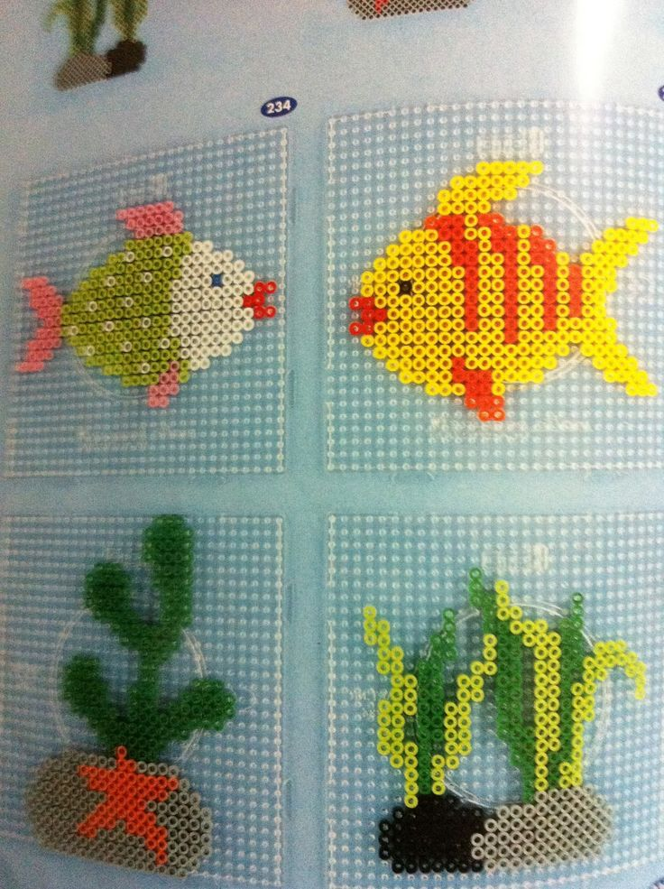 PP Pyssla Ideal Shop: Hama beads design