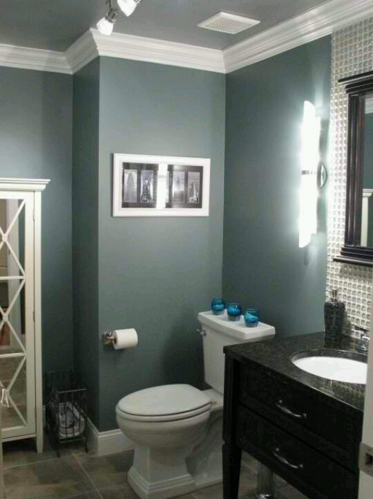 Like the color for the powder room downstairs