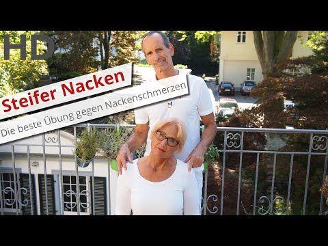Steifer Nacken - was tun? // Die beste Übung gegen Nackenschmerzen, Nackenverspannungen - YouTube