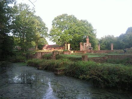 The Ruins Of Scadbury Manor House Family Seat Of Sir