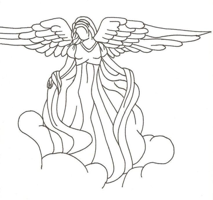 Рисовать картинки ангелов